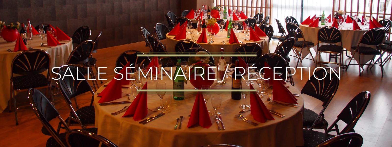 salle de séminaire et réceptions pour célébrer tous vos événements professionnels et personnels à Vire, Normandie