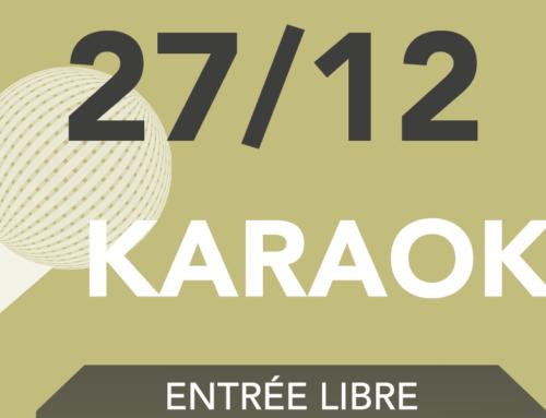 KARAOKé du 27 décembre