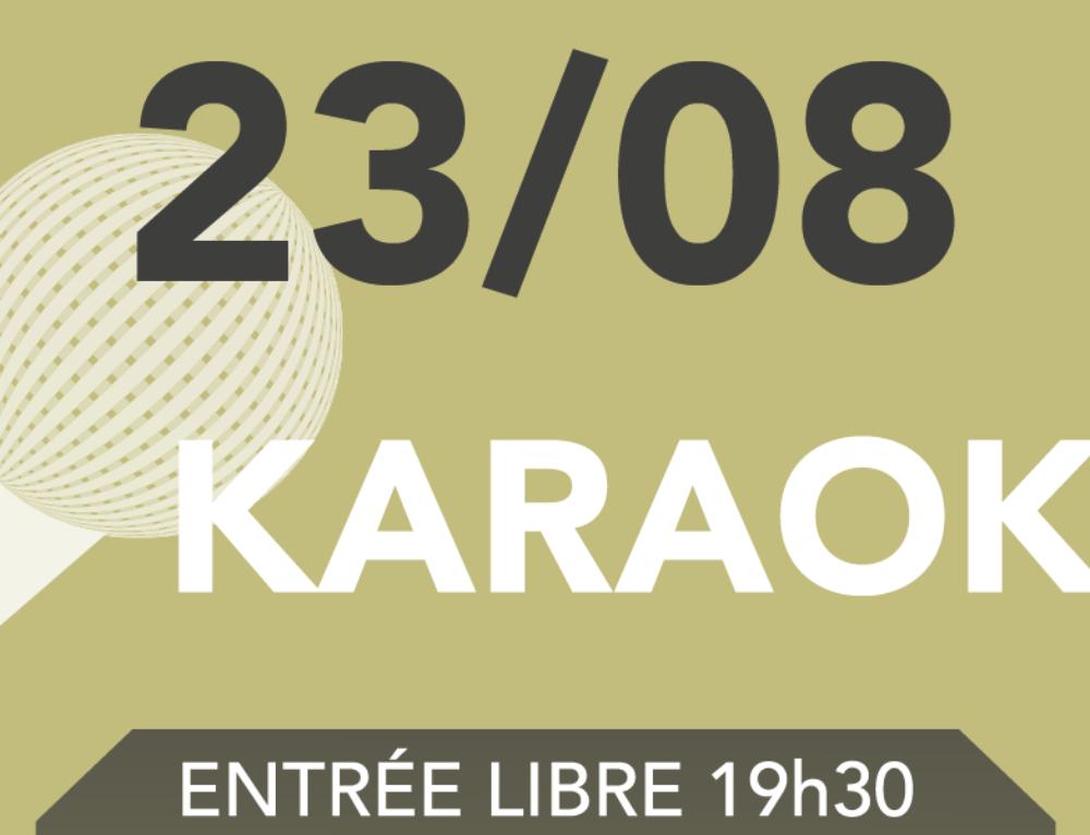 KARAOKÉ DU 23 AOÛT