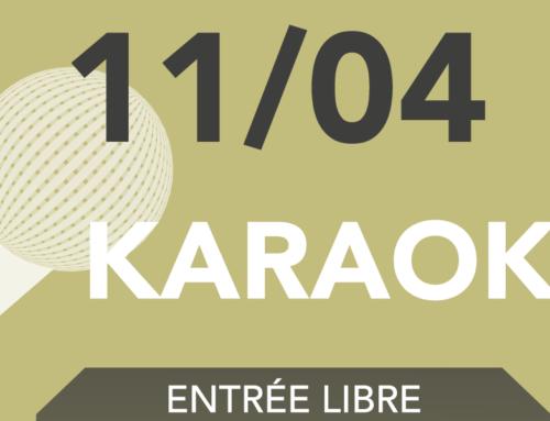 Karaoké du 11 avril