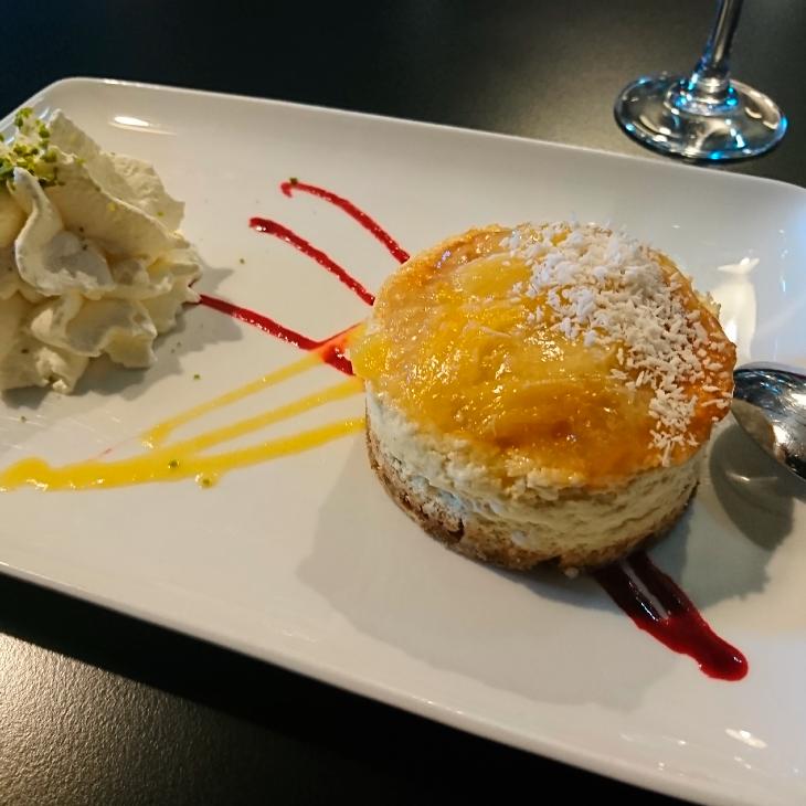 Les desserts fait maison de la Table restaurant Vire , Calvados en Normandie: desserts gourmands et généreux