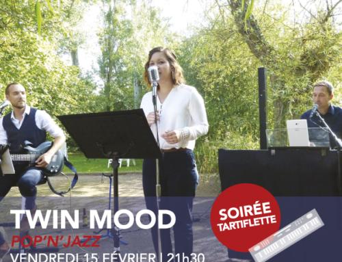 vendredi 15 février | Twin Mood | pop'n'jazz | 21h30