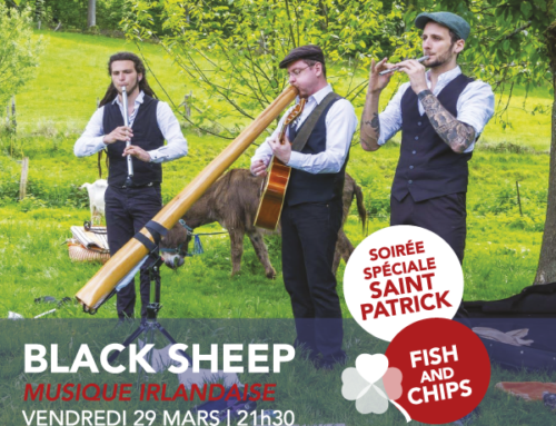 vendredi 29 mars | Black Sheep | musique irlandaise | 21h30