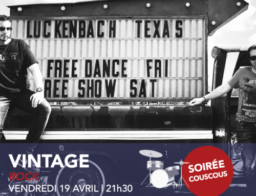 vendredi 19 avril | Vintage | Rock | 21h30