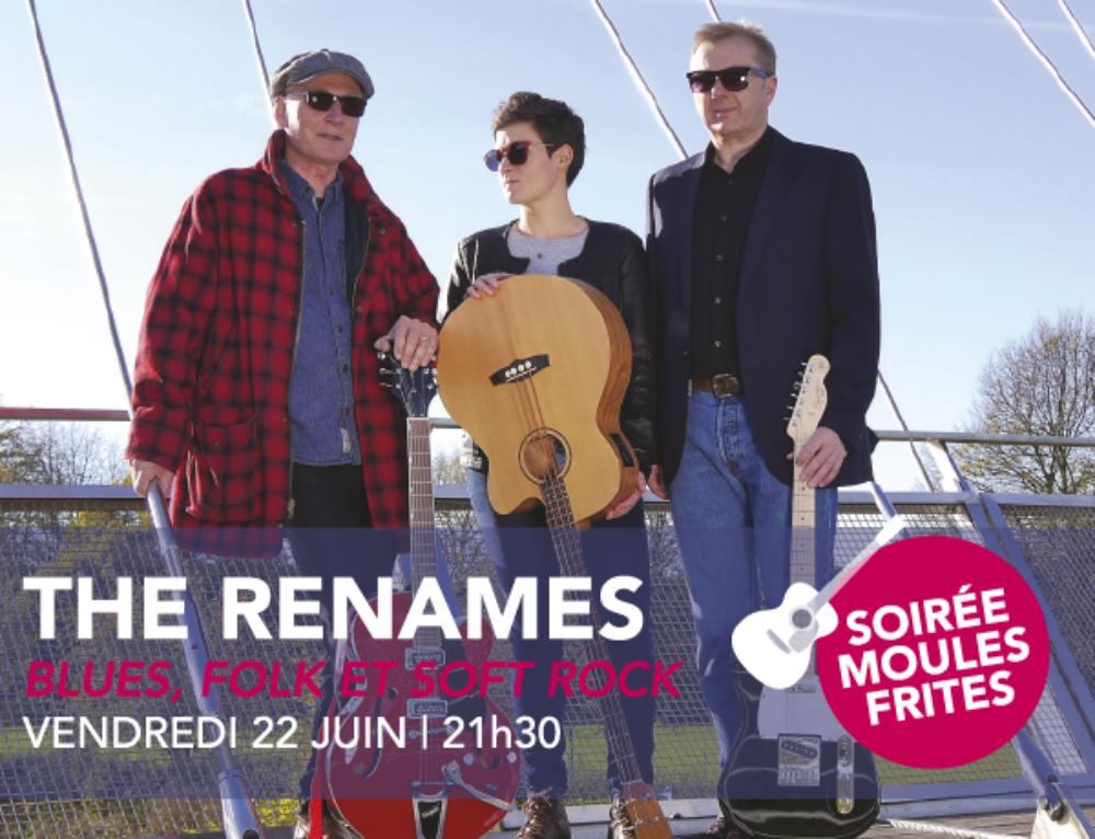 Concert du vendredi 22 juin | The Renames | Blues, Folk et Soft Rock | 21H30